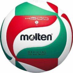 Molten Volleybal 5m4500 Wit/rood/groen Maat 5