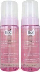 Roc Energising Cleansing Mousse - 150 ml (Set van 2)