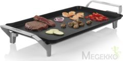 Princess Table Chef Premium XL Grill Elektrisch Met handmatige temperatuursinstelling Zilver (mat), Zwart