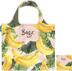 Gele Bagz Going Bananas 1094622 opvouwbare tas van gerecycled plastic