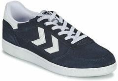 Blauwe Lage Sneakers Hummel VICTORY