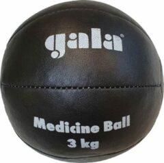 Gala Medicine Ball - Medicijn bal - 3 kg - Zwart Leer