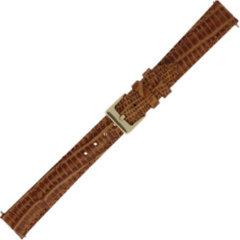 Morellato Horlogebandje Snake Cognac 16mm