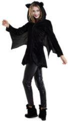 Zwarte Folat Party Products Vleermuis Jurk Dames - L/XL