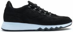 Zwarte Floris van Bommel 16393 Sneakers men Maat: 40 (7) black 13 black nubuck