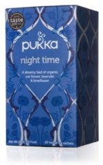 Pukka Org. Teas Night time thee 20 Stuks