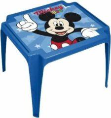 Blauwe Disney Kindertafel Mickey Mouse Meisjes 50 X 55 Cm Roze