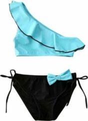 Supercute Bikini - Turquoise - Zwart - Baby - Maat 74-80