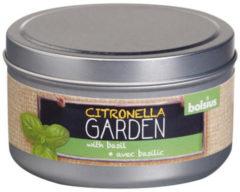 Bolsius Blikje+geur 49/87 Citronella Garden Basilicum