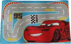 Rode Disney Cars Vloerkleed Small Road - Multicolor - 50x80cm