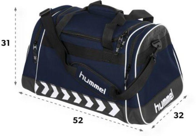 Afbeelding van Marineblauwe Hummel Milford Bag Sporttas - Navy - Maat One Size