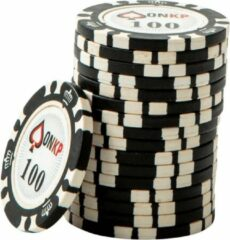 Blauwe ONK Poker Chips 100 (25 stuks)