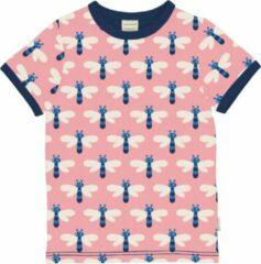 Blauwe Maxomorra |DRAGONFLY| T-shirt Maat 74/80