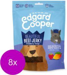 Edgard & Cooper Rund Jerky - voor honden - Hondensnack - 8 x 150g