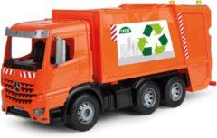 Oranje Lena vuilniswagen Mercedes-Benz Arocs Worxx 52cm
