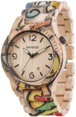 Alpha Woop Eyes Beige Herren-Armbanduhr WW53001 WeWood braun