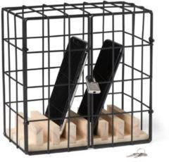 Zwarte Balvi Telefoon kluis / gevangenis