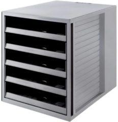 Grijze HAN KARMA Ladenkastje C4 100% gerecycled materiaal 27,5 x 33 x 32 cm