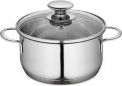 Zilveren Kuchenprofi Kookpan 16 cm - 1500 ml