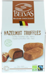 Belvas Praline hazelnoot truffels