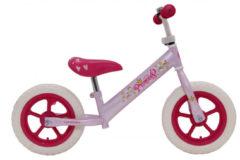 Amigo Loopfiets Princess Loopfiets Met 2 Wielen 12 Inch Meisjes Roze