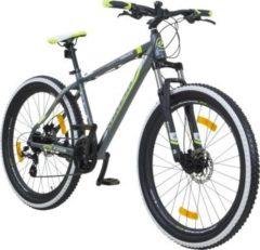 Galano Infinity 27,5 Zoll 650B MTB Mountainbike Scheibenbremsen Shimano... grau / grün