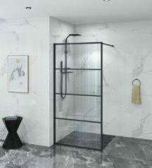 Star & Art | Douchewand Luxuryline | 100 × 200 cm | Met Helder Veiligheidsglas En Nano Coating |
