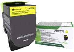 Lexmark Recycling toner CS317 CS417 CS517 CX317 CX417 CX517 71B20Y0 Origineel Geel 2300 bladzijden