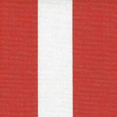 Acrisol Listado Rojo 20 stof rood wit gestreept per meter buitenstoffen, tuinkussens, palletkussens