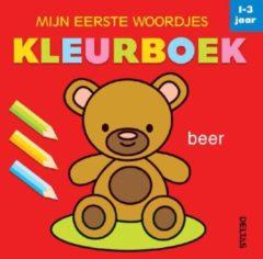 Centrale Uitgeverij Deltas Mijn eerste woordjes Kleurboek - 1-3 jaar