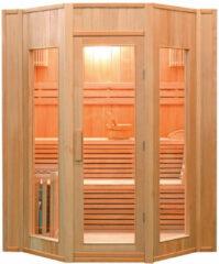 Maison Home Maison's Sauna - Sauna - Stoom sauna - Finse stoom sauna - 4 persoons - 200x198x174cm
