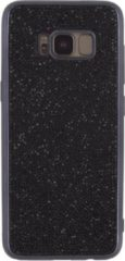 Zwarte Xccess TPU Case Samsung Galaxy S8+ Metallic Edge with Glitter Stones Black
