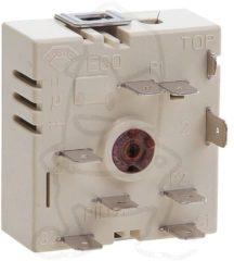 Kochplattenschalter EGO 50.57020.010 (linksdrehend, Energieregler, stufenlos) für Herd 5057020010