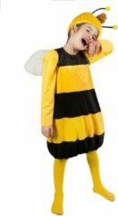 Gele Metamorph GmbH - Maya de Bij Willy outfit voor kinderen - 134-140 cm (9-10 jaar) - Kinderkostuums