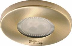 Sapho Marin LED spot 85mm geborsteld brons inbouw armatuur