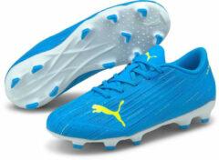 Blauwe Puma Ultra 4.2 fg/ag kids blue yellow