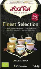 Yogi Tea Finest Selection Voordeelverpakking - 6 pakjes van 17 theezakjes