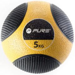 Gele Pure2Improve Medicine Ball (5kg) - Gewichten