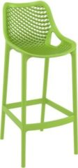 CLP Outdoor Barhocker AIR, stapelbar, Sitzhöhe 75 cm, edle Optik, bis zu 7 Farben wählbar