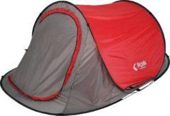 Froyak Pop Up Tent - Grijs/Rood - 2 Persoons
