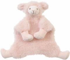 Roze Happy Horse Lama Lush Knuffeldoekje