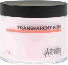 Roze Astonishing Nails Acryl Acrylic Powder Poeder Transparent Pink 100gr