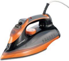 CLEANmaxx Dampfbügeleisen Cleanmaxx schwarz/orange