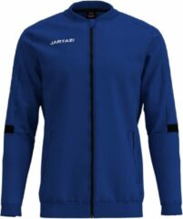Donkerblauwe Jartazi Trainingsjack Poly French Heren Polyester Blauw Mt L