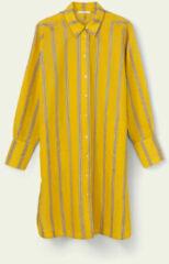 Gele Oilily Dreux long sleeve dress 41 stripe