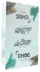 De Bron Chocolate Wafer Suiker Vrij Doos
