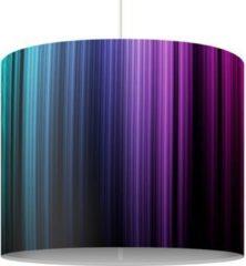 PPS. Imaging Pendelleuchte - Rainbow Display - Lampe - Lampenschirm Schwarz