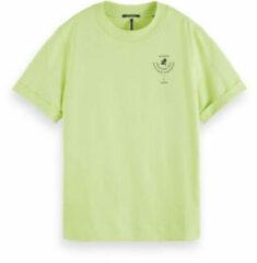 Scotch & Soda T-shirt van biologisch katoen met tekstprint