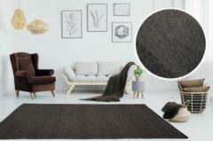 Beige Flycarpets Ardea Wollen Vloerkleed Kleur : Bruin Afmeting Ca. 160x230cm