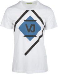 Bianchi Versace Jeans T-shirt maglia maniche corte girocollo uomo
